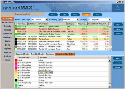 Property Management Jobs on Landlordmax Property Management Software Screenshot